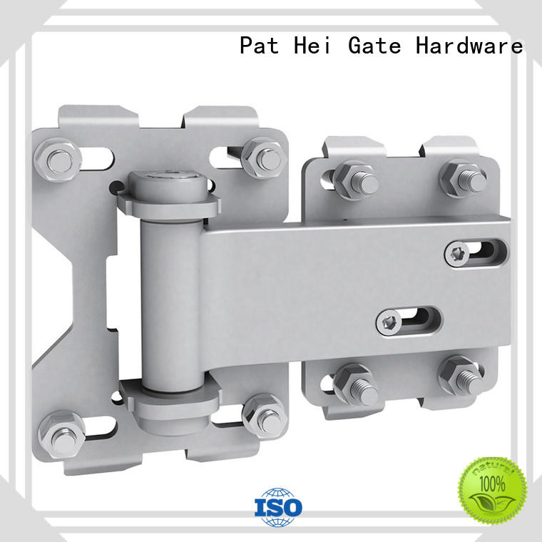 farm gate hinges heavy duty steel selfclosing innovative Pat Hei Gate Hardware Brand company