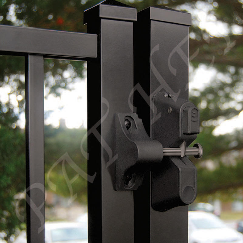 Decorative Plasctic Gravity Latch without Key Entry