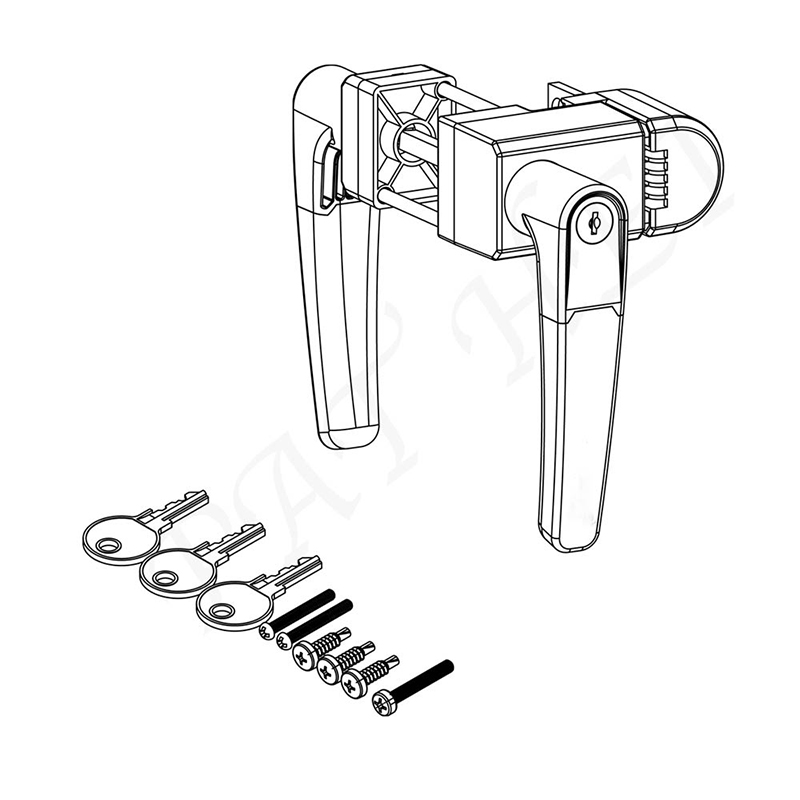 new gate handle lock plastic factory for furniture-3