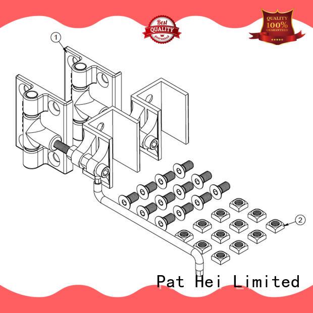 Pat Hei Gate Hardware Brand steel duty aluminum aluminum gate hinges