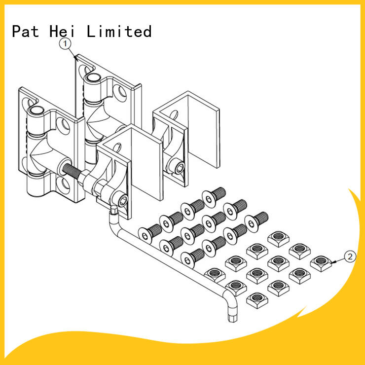 Pat Hei Gate Hardware classic aluminum hinges awarded supplier for sale