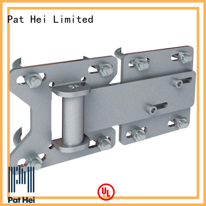 chain link fence gate hinges low MOQ Pat Hei Gate Hardware