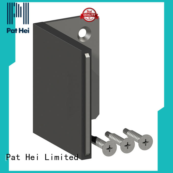 Pat Hei Gate Hardware steel gate stop with silicone cover for dealer