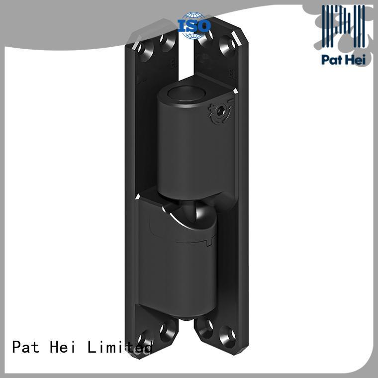 aluminum selfclosing standard Center Mount Hinge innovative Pat Hei Gate Hardware company