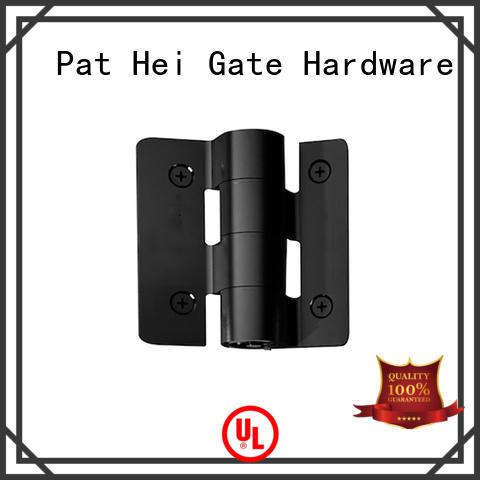 big aluminum adjustable stainless steel hinges Pat Hei Gate Hardware manufacture