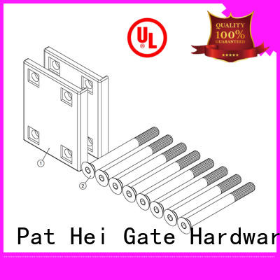 Pat Hei Gate Hardware Brand plate handle estate garden gate handles and locks