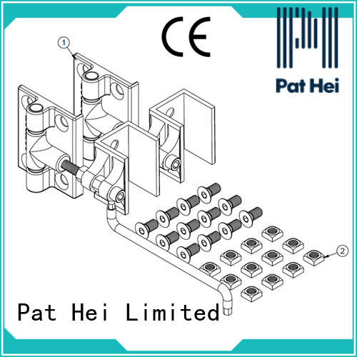Pat Hei Gate Hardware perfect size aluminum hinges awarded supplier for yard
