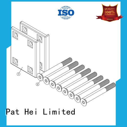 plate comfortable handle gate pull handle Pat Hei Gate Hardware Brand
