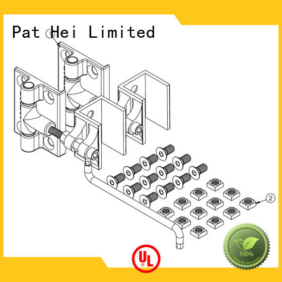 heavy Custom aluminum adjustable aluminum gate hinges Pat Hei Gate Hardware selfclosing