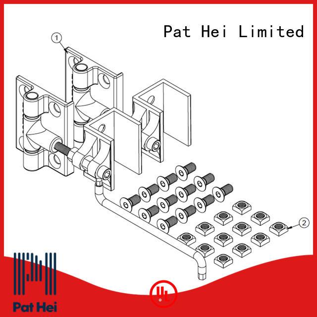 Pat Hei Gate Hardware light weight aluminum gate hinges awarded supplier for garden