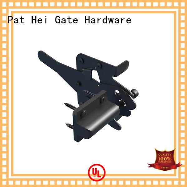 key fence gate latch lever Pat Hei Gate Hardware company