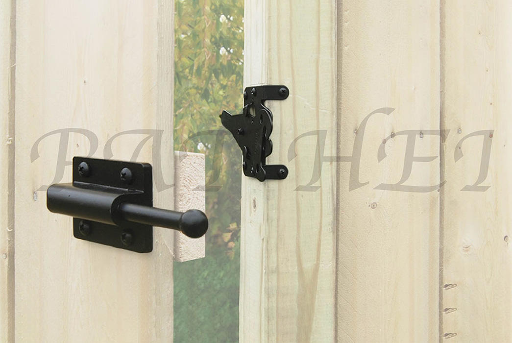 Pat Hei Gate Hardware automatic gravity latch factory for door-1