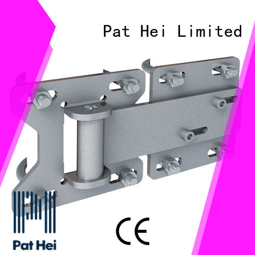 square chain link gate hinges low MOQ made in China for sale