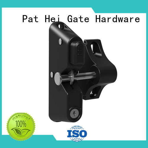 without button fence gate latch style Pat Hei Gate Hardware company