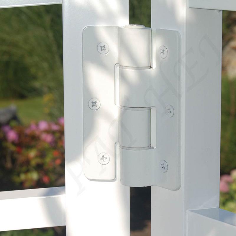 Pat Hei Gate Hardware-Best Aluminum Adjustable Self-closing Gate Hinge Black Hinges-2