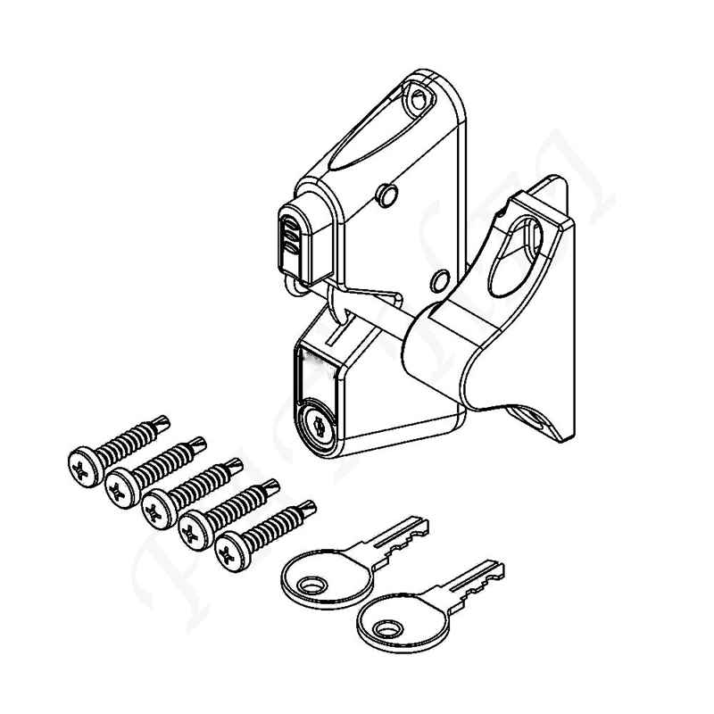 Pat Hei Gate Hardware OEM ODM metal latch supplier for door-4