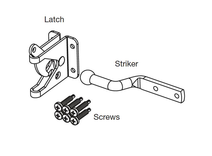Pat Hei Gate Hardware sturdy gate latch supplier for sale-3
