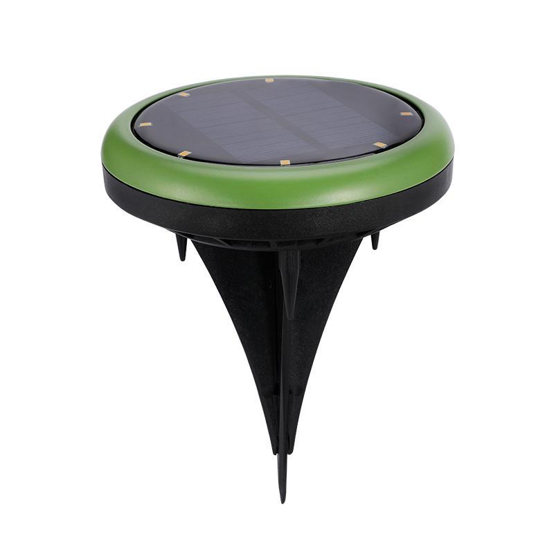 Solar Buried Floor Deck Stake Lighting Waterproof Underground Lamp