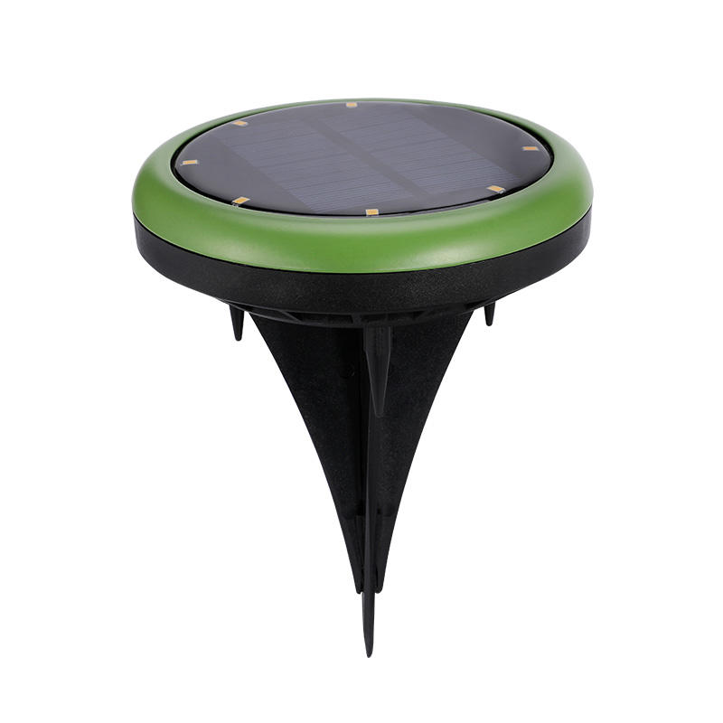 Solar Buried Floor Deck Stake Lighting Waterproof Underground Lamp