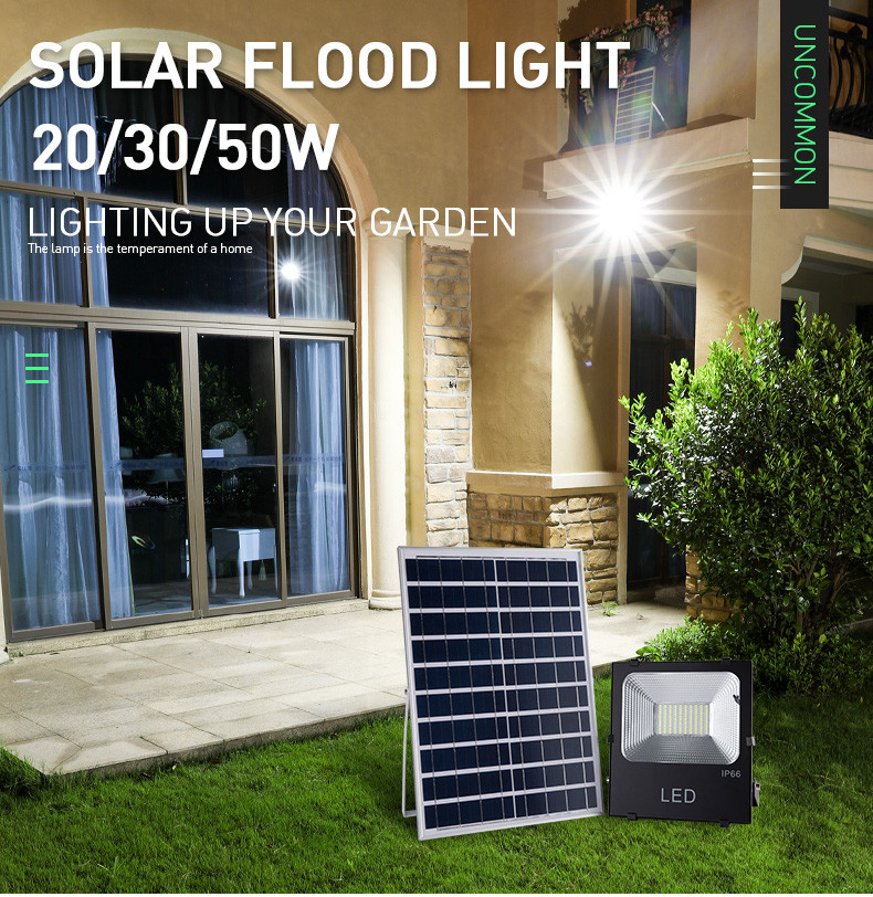 Pat Hei Gate Hardware-High Lumen Ip65 Waterproof Garden Security Solar Flood Light-pat Hei Gate-1