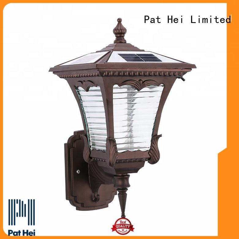 Pat Hei Gate Hardware heavy duty solar outside wall lights manufacturer for trader
