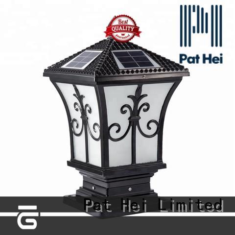 Pat Hei Gate Hardware new design garden pillar lights trade partner for sale