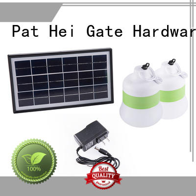 Pat Hei Gate Hardware panel solar exterior lights large sale