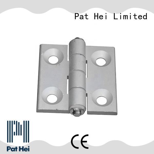 Pat Hei Gate Hardware OEM ODM black hinges fast shipping for merchant