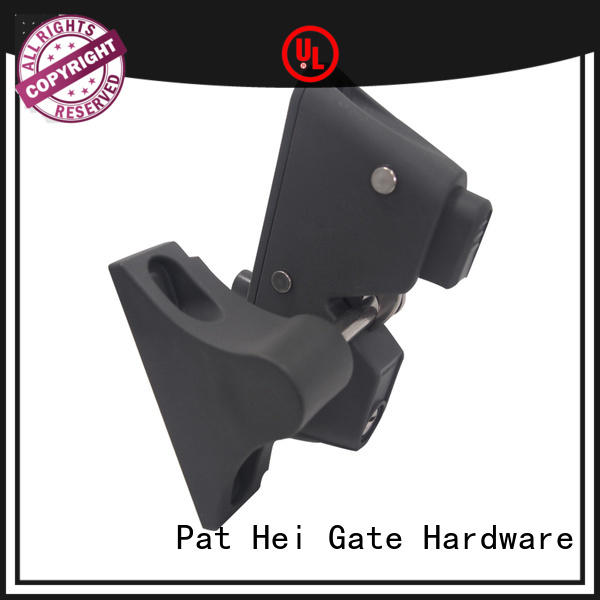 Pat Hei Gate Hardware Brand unique locking fence gate latch dual