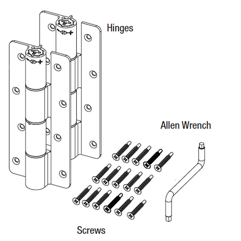 heavy duty spring door hinge China factory for sale-3
