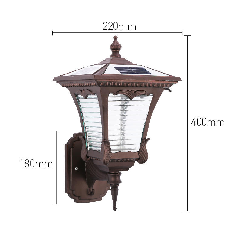 Pat Hei Gate Hardware self closing solar powered wall light supplier for sale-1