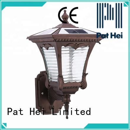 Pat Hei Gate Hardware aluminum solar outside wall lights factory for merchant