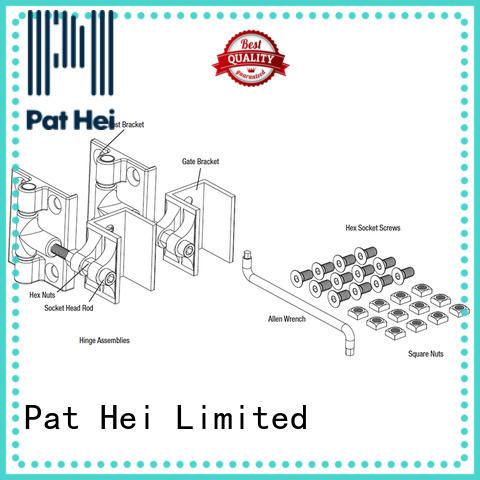 Pat Hei Gate Hardware perfect size aluminum hinges bulk purchase for garden