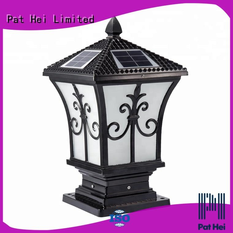 Pat Hei Gate Hardware hot selling solar gate pillar lights trade partner for yard