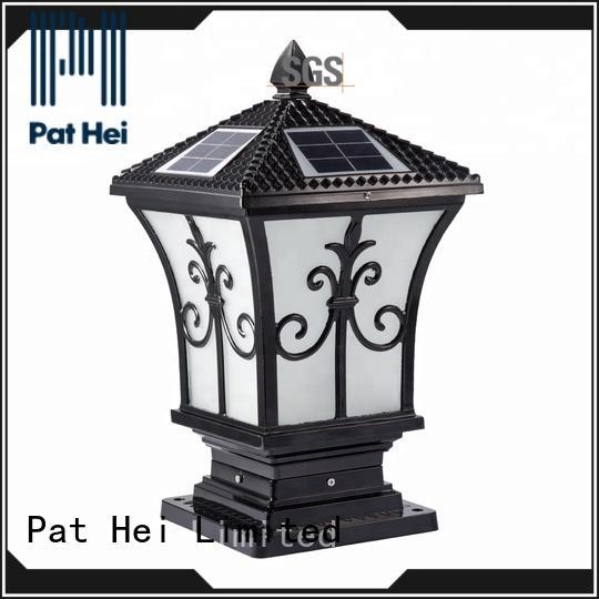 Pat Hei Gate Hardware hot selling Solar Pillar Light exporter for garden