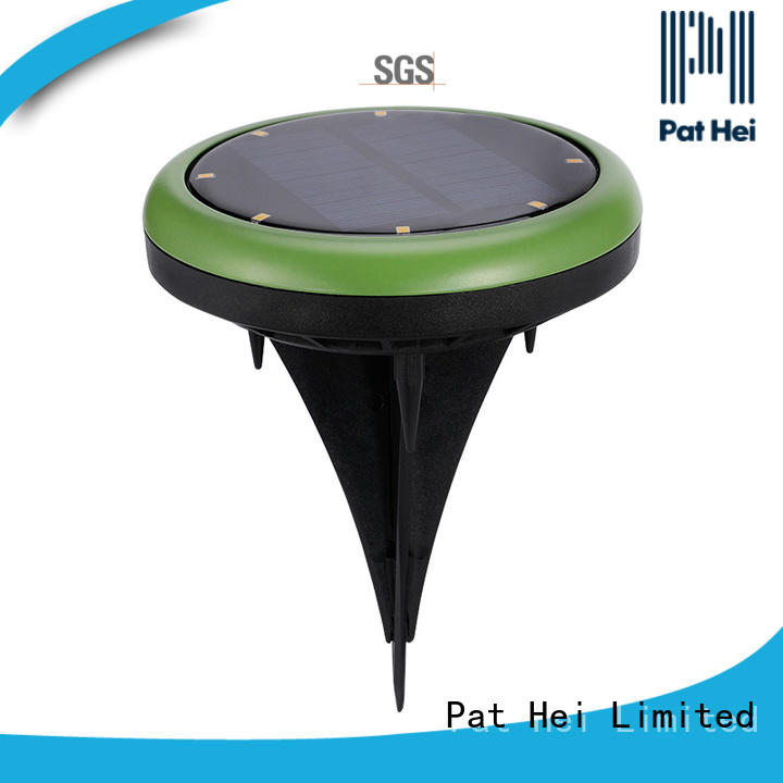 China solar powered lawn lights easy to install manufacturer