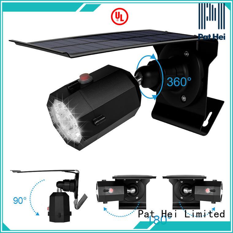 Pat Hei Gate Hardware China solar led motion sensor light trader for outdoor