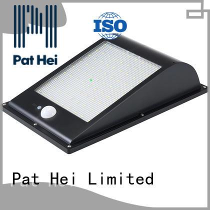 Pat Hei Gate Hardware IP65 solar powered sensor light wholesale for sale