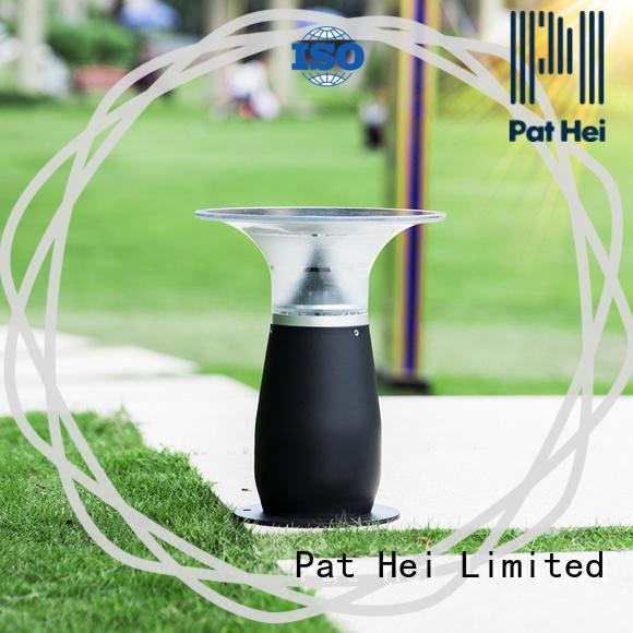 Pat Hei Gate Hardware new design solar gate pillar lights exporter for garden