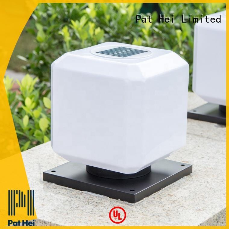 new design Solar Pillar Light aluminum trade partner for yard