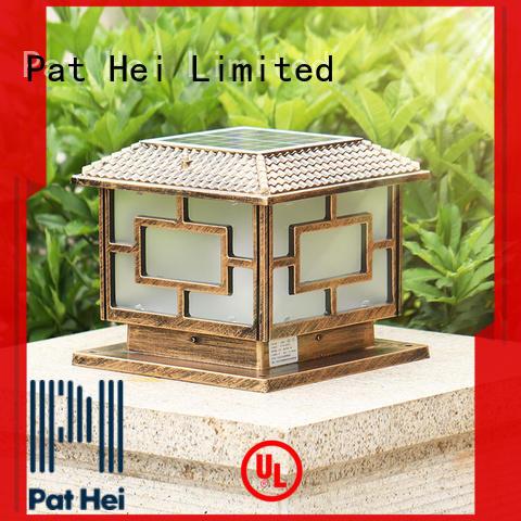 Pat Hei Gate Hardware led lights garden pillar lights bulk purchase for yard