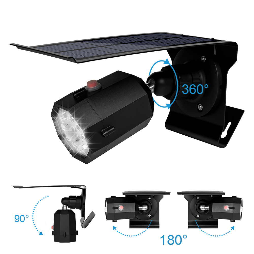 Pat Hei Gate Hardware-| Solar Outdoor Led Courtyard Induction Lamp - Pat Hei Gate Hardware-1