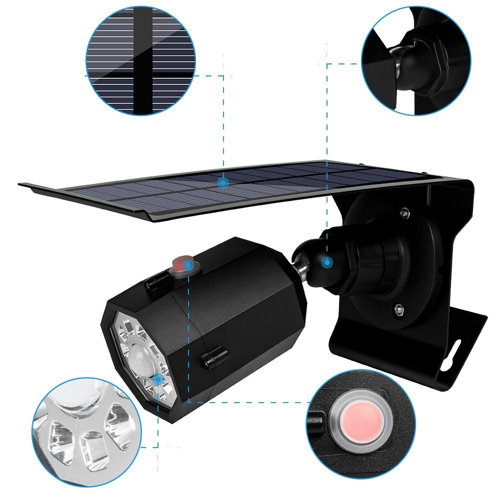 Pat Hei Gate Hardware-| Solar Outdoor Led Courtyard Induction Lamp - Pat Hei Gate Hardware-5