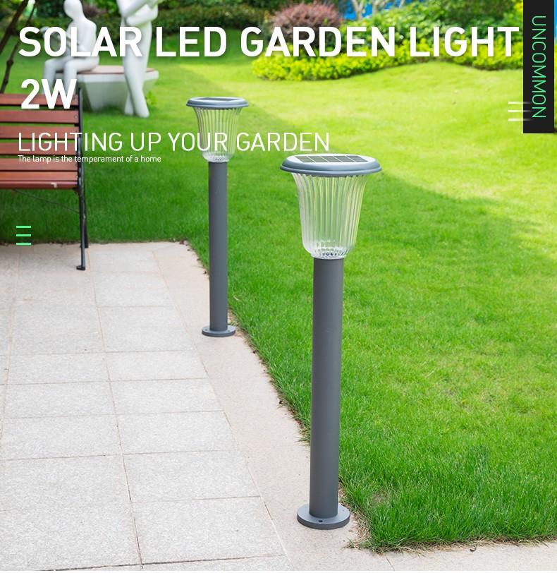 Pat Hei Gate Hardware-Aluminum Wireless Ip55 Waterproof Led Outdoor Solar Powered Lawn Light-pat-2
