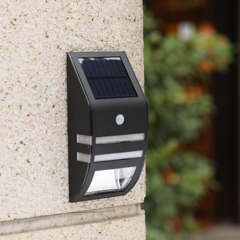 Stainless Steel IP65 Waterproof Led Outdoor Solar Motion Sensor Light