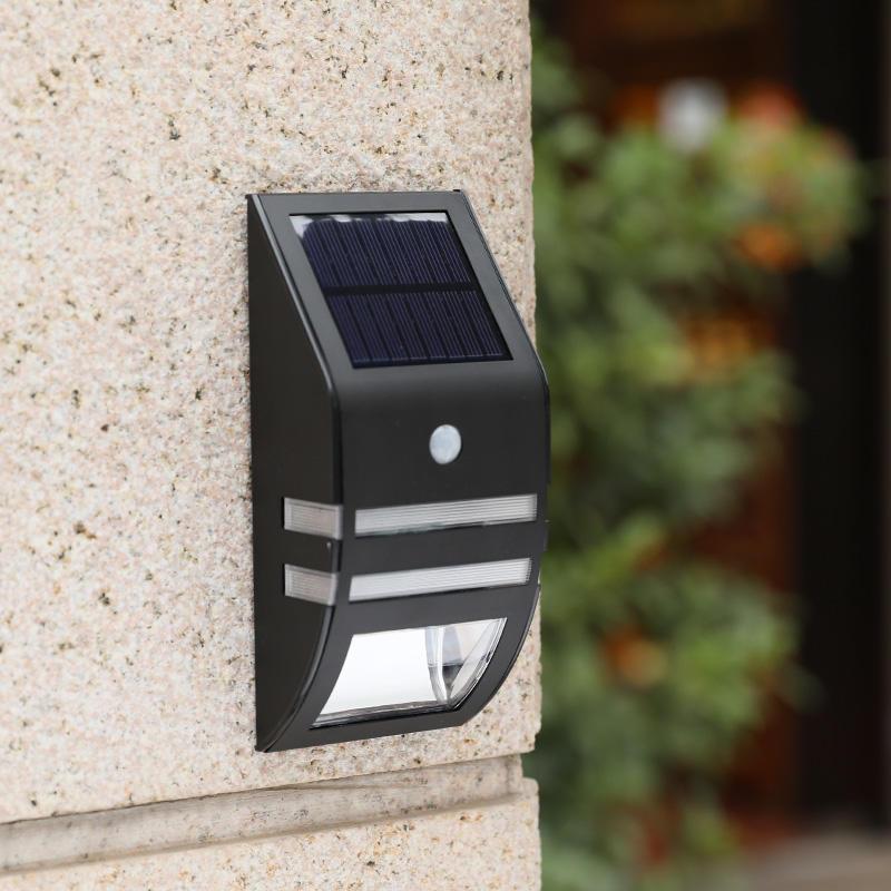 Stainless Steel IP65 Waterproof Led Outdoor Solar Motion Sensor Light