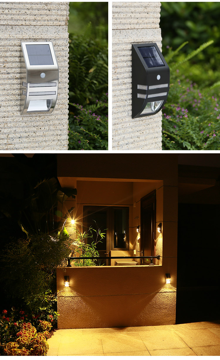 Pat Hei Gate Hardware-Stainless Steel Ip65 Waterproof Led Outdoor Solar Motion Sensor Light-pat-4