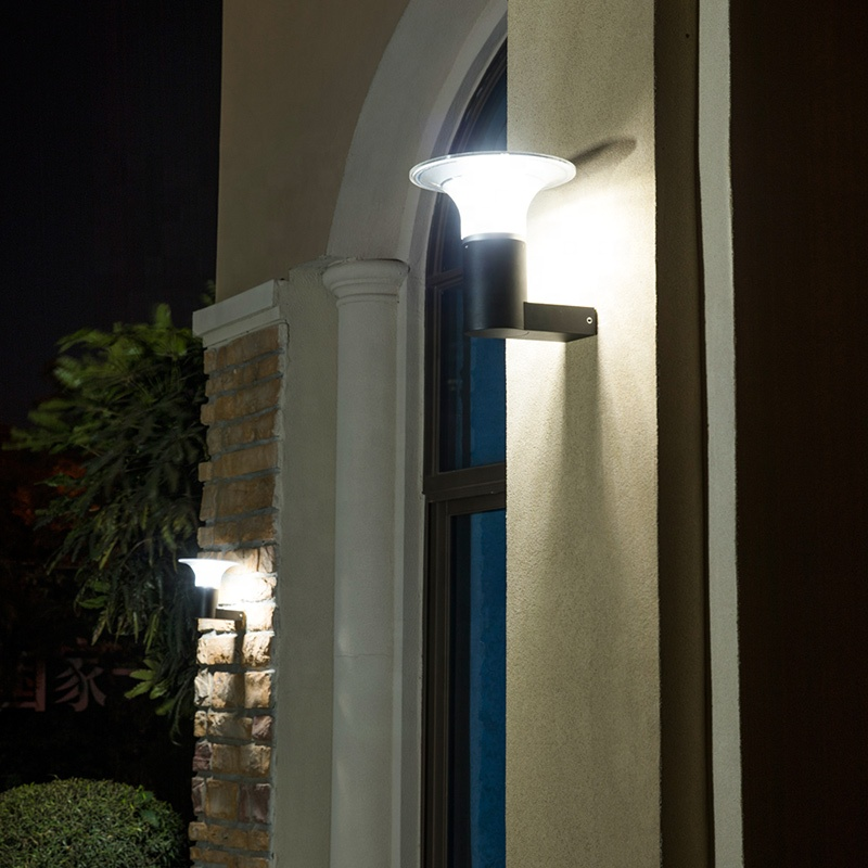 Pat Hei Gate Hardware-Aluminum Wireless Ip55 Waterproof Outdoor Solar Led Wall Light-pat Hei-4