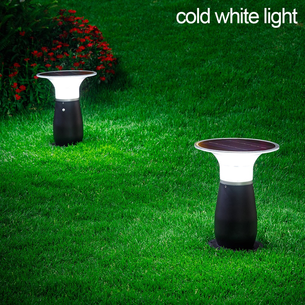 IP55 Waterproof Aluminum Wireless Outdoor Solar Bollard Light-7