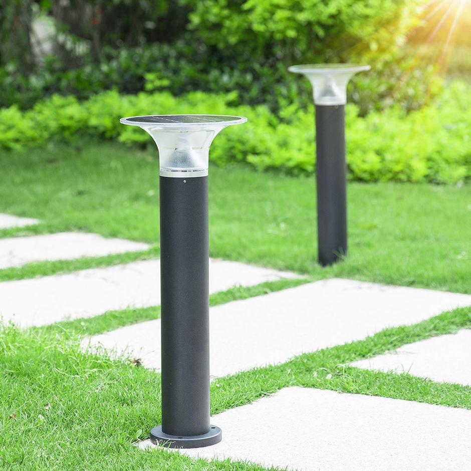 IP55 Waterproof Hourglass Outdoor Solar LED Lawn Light